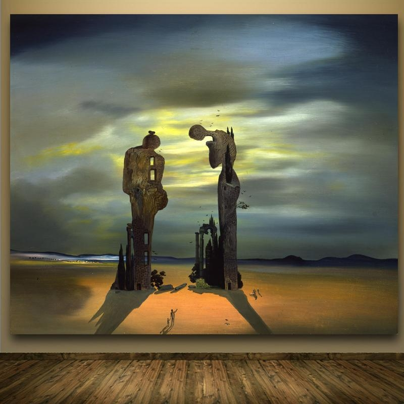 Online Get Cheap Salvador Dali Canvas  Aliexpress | Alibaba Group Within Salvador Dali Wall Art (Image 10 of 20)