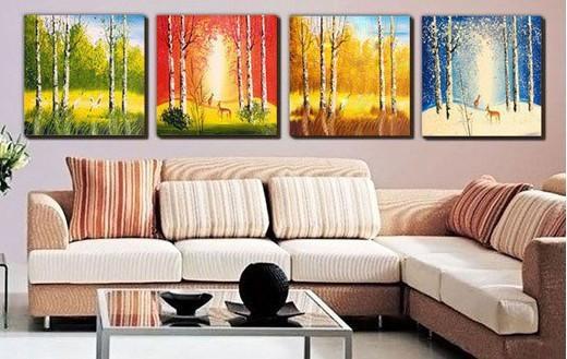 Online Get Cheap Seasonal Wall Art Aliexpress | Alibaba Group Pertaining To Seasonal Wall Art (View 17 of 20)