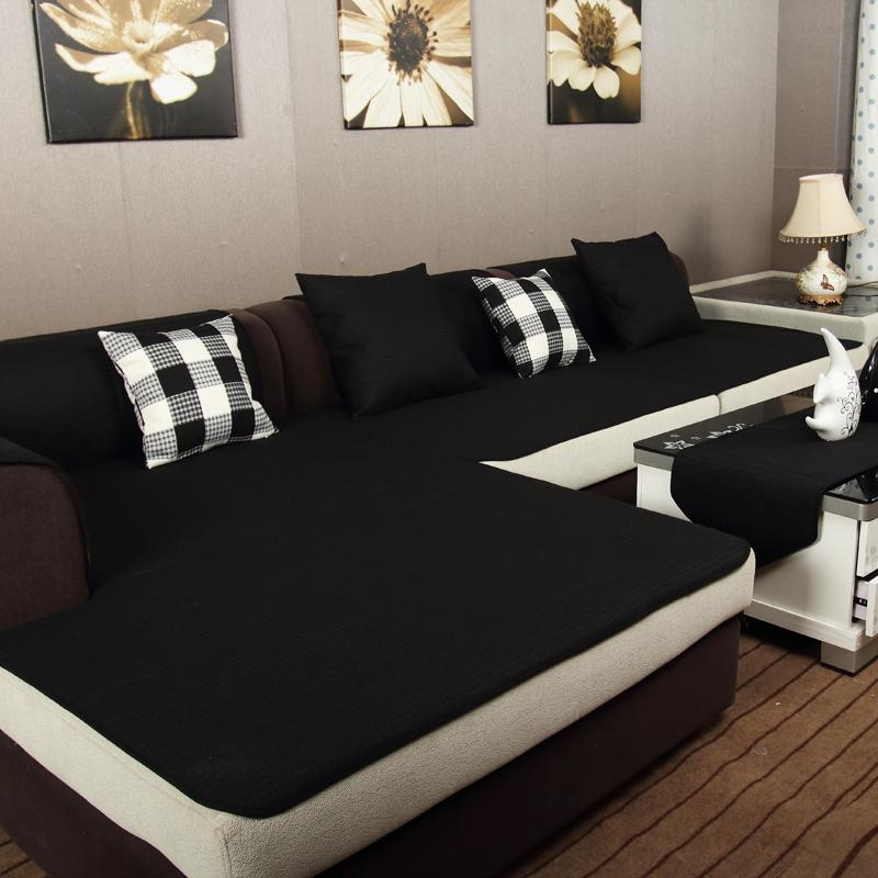 Online Get Cheap Sofa Cloth Cover Black Aliexpress | Alibaba Inside Sofas With Black Cover (View 18 of 20)