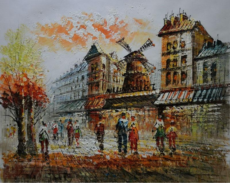 Online Get Cheap Street Scene Art  Aliexpress | Alibaba Group In Street Scene Wall Art (Image 7 of 20)