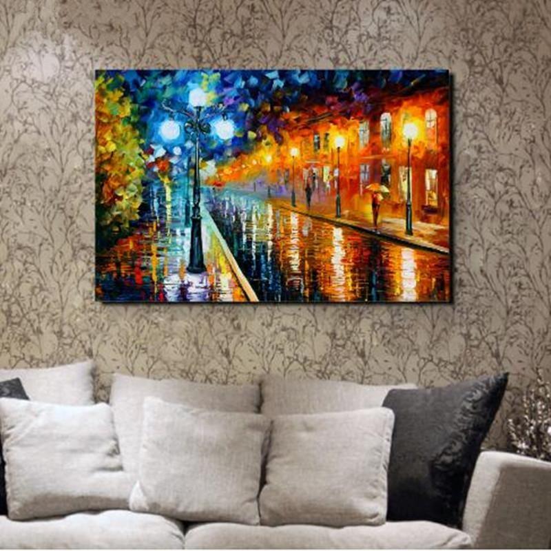 Online Get Cheap Street Scene Art Aliexpress | Alibaba Group With Street Scene Wall Art (View 18 of 20)