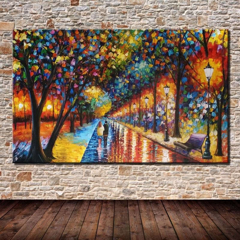 Online Get Cheap Street Scene Wall Art  Aliexpress | Alibaba Group With Regard To Street Scene Wall Art (Image 12 of 20)