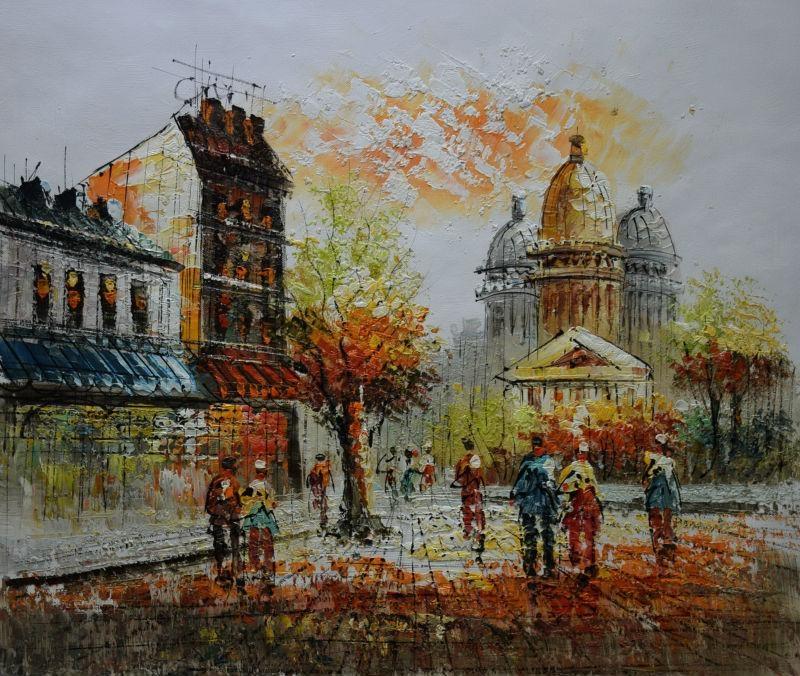 Online Get Cheap Street Scene Wall Art  Aliexpress | Alibaba Group With Street Scene Wall Art (Image 13 of 20)