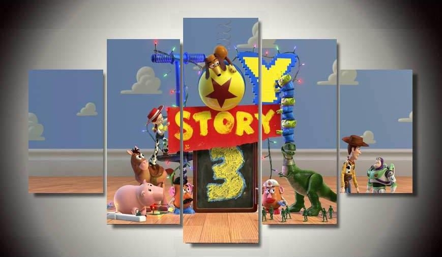 Online Get Cheap Toy Story Rooms Aliexpress | Alibaba Group With Toy Story Wall Art (View 16 of 20)