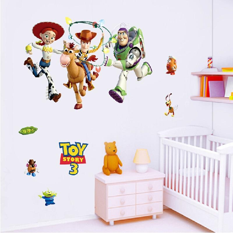 Online Get Cheap Toy Story Wall Stickers  Aliexpress | Alibaba Inside Toy Story Wall Stickers (Image 8 of 20)