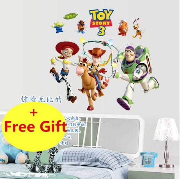 Online Get Cheap Toy Story Wall Stickers Aliexpress | Alibaba With Regard To Toy Story Wall Art (View 5 of 20)