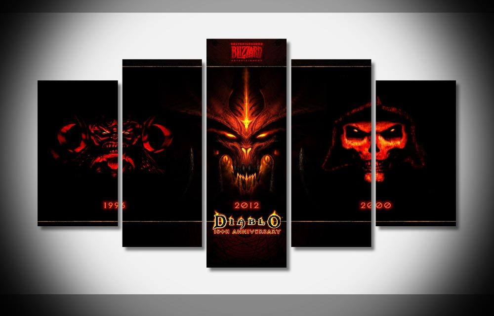 Online Get Cheap Video Game Posters  Aliexpress | Alibaba Group Regarding Video Game Wall Art (Image 12 of 20)