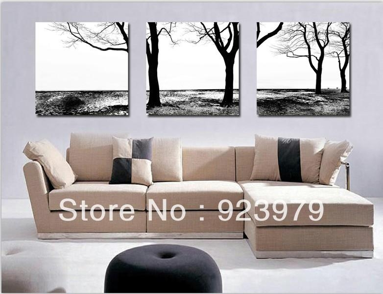Online Get Cheap White Abstract Art  Aliexpress | Alibaba Group With Regard To Black And White Framed Wall Art (Image 14 of 20)