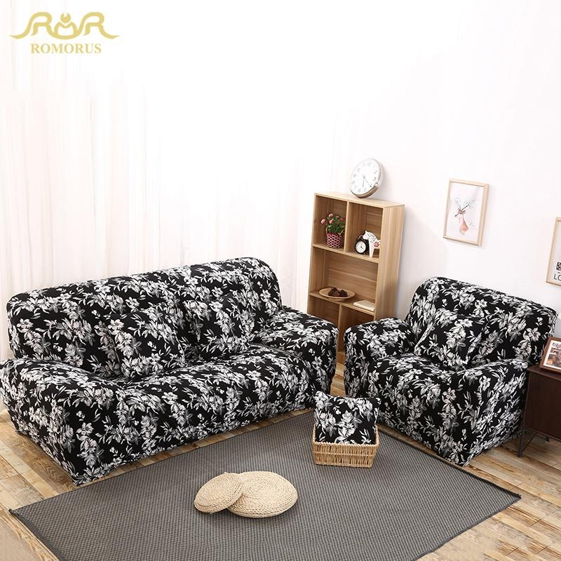 Online Get Cheap White Sofa Cover Aliexpress | Alibaba Group For Sofas With Black Cover (View 13 of 20)