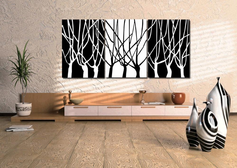 Online Get Cheap White Tree Art Aliexpress | Alibaba Group Regarding Big Cheap Wall Art (View 12 of 20)