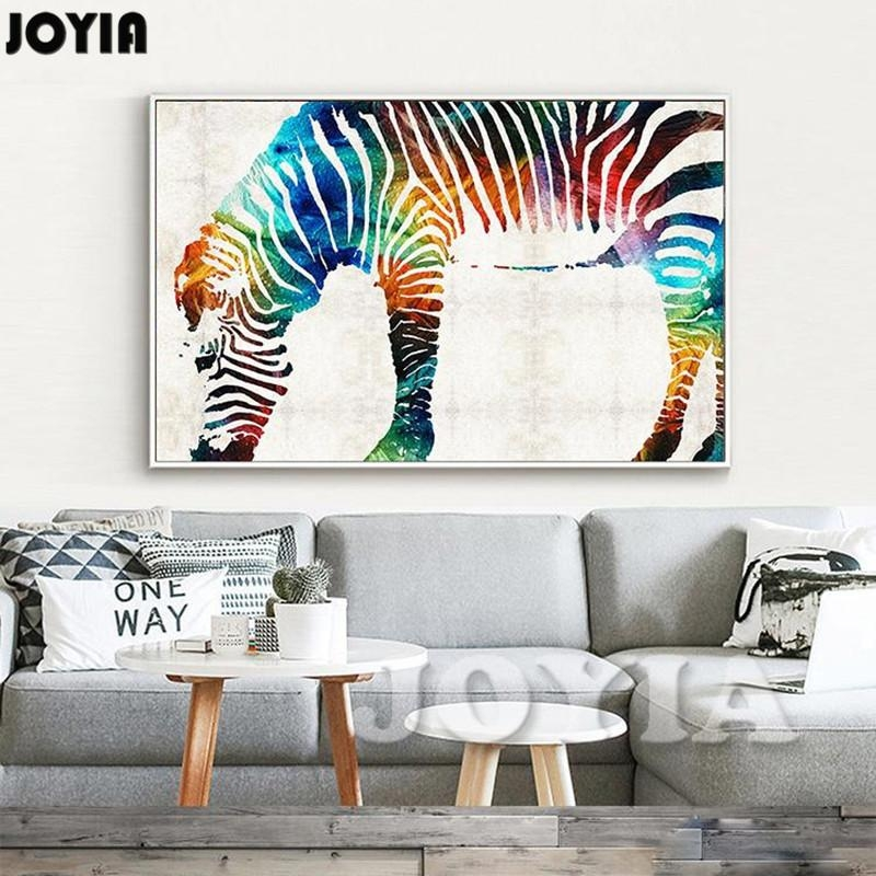 Online Get Cheap Zebra Wall Art Canvas Aliexpress | Alibaba Group For Zebra Wall Art Canvas (View 13 of 20)