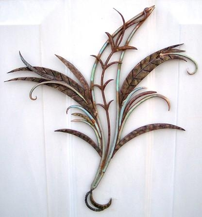 Ornamental Metal Wall Art Sculpture, Traditional And Attractive (View 12 of 20)