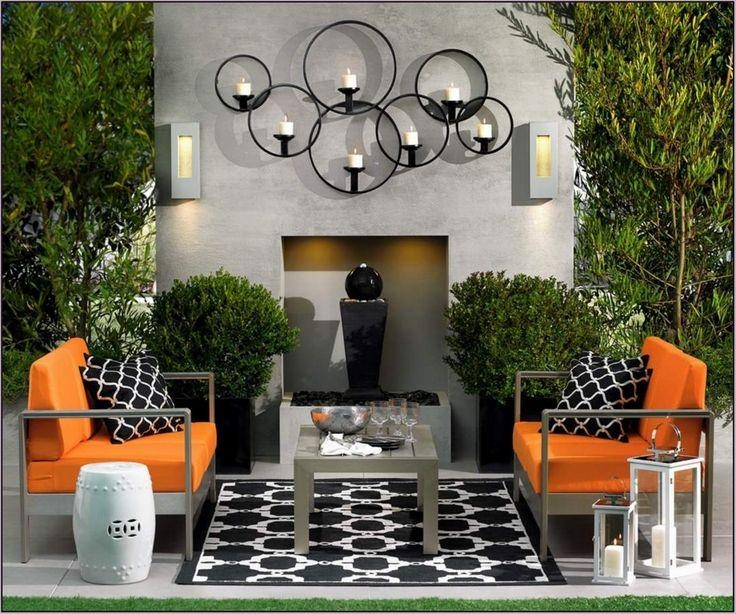 20 Best Modern Outdoor Wall Art | Wall Art Ideas on Outdoor Garden Wall Art Ideas id=57428