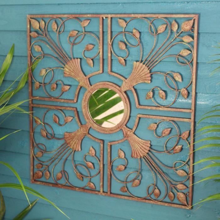Outdoor Garden Wall Mirrors (Image 20 of 20)