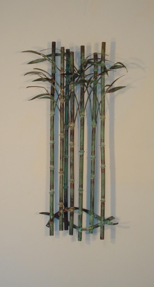 Outdoor Metal Wall Art In Bamboo Metal Wall Art (View 14 of 20)