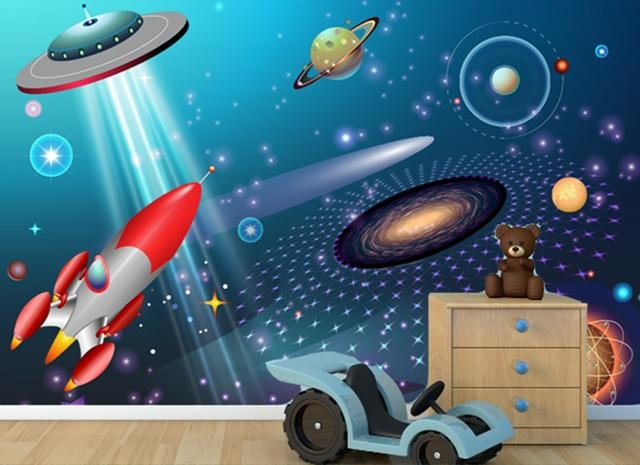 Outer Space – Wall Mural – Grafix Wall Art Intended For Outer Space Wall Art (Image 16 of 20)
