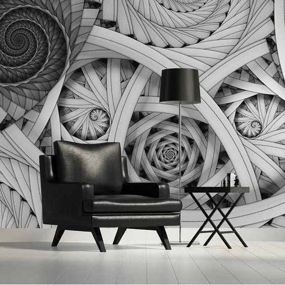Outstanding Wall Art Ideas Inspiredoptical Illusions Inside Optical Illusion Wall Art (Image 18 of 20)