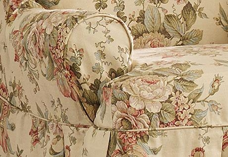 Oversized Chair Slipcovers: Sure Fit Recliner Chair Covers, Home Pertaining To Floral Slipcovers (Image 14 of 20)