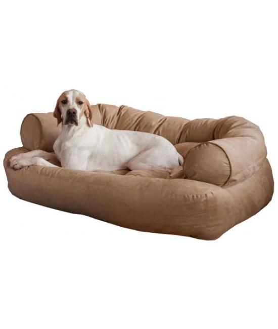 Overstuffed Luxury Dog Sofa – Presenteddog Beds Comfort Pertaining To Snoozer Luxury Dog Sofas (Image 2 of 20)