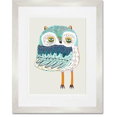 Owl Wall Art | Wayfair (Image 15 of 20)