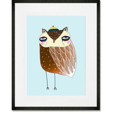 Owl Wall Art | Wayfair (Image 16 of 20)