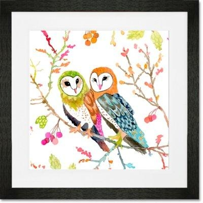 Owl Wall Art | Wayfair (Image 17 of 20)
