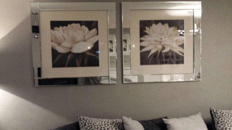 Pagazzi Solid Mirror Framed Pictures | In Airdrie, North Inside Mirrored Frame Wall Art (Image 14 of 20)