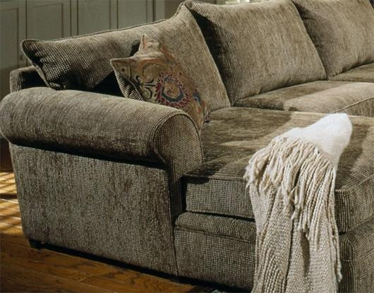 Palisades Ii 4 Piece Chenille Sectionalcoaster Pertaining To Chenille Sectional Sofas (Image 17 of 20)
