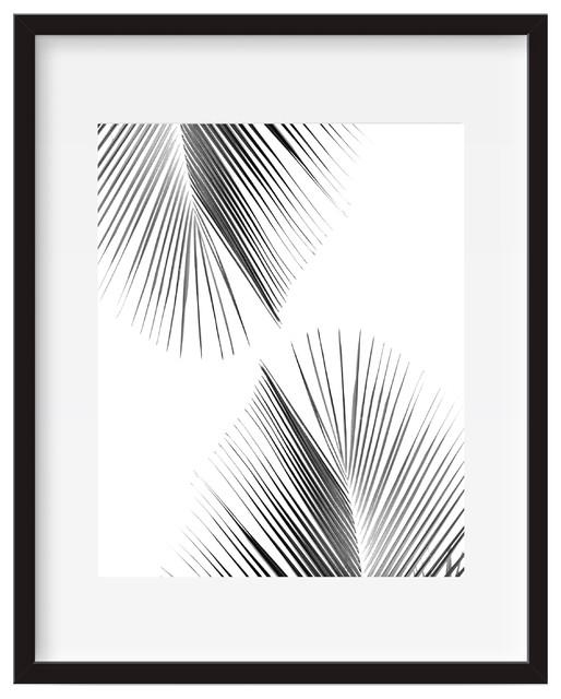 Palm Leaf, Tropical Wall Art, Poster Print – Tropical – Prints And Intended For Palm Leaf Wall Art (View 3 of 20)