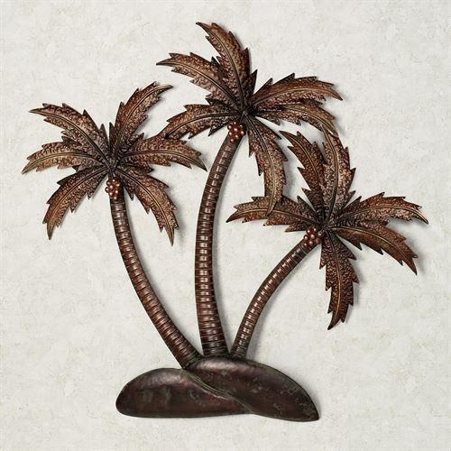 Palmiera Tropical Metal Wall Art Throughout Palm Tree Metal Art (Image 17 of 20)