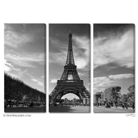 Paris Canvas Wall Art Awesome Wall Art Ideas For Black And White With Black And White Paris Wall Art (Image 14 of 20)
