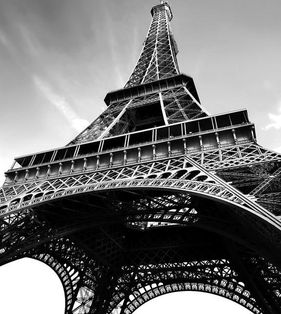 Paris Design Photo Panel Wall Decals – Contemporary – Prints And Regarding Black And White Paris Wall Art (View 2 of 20)