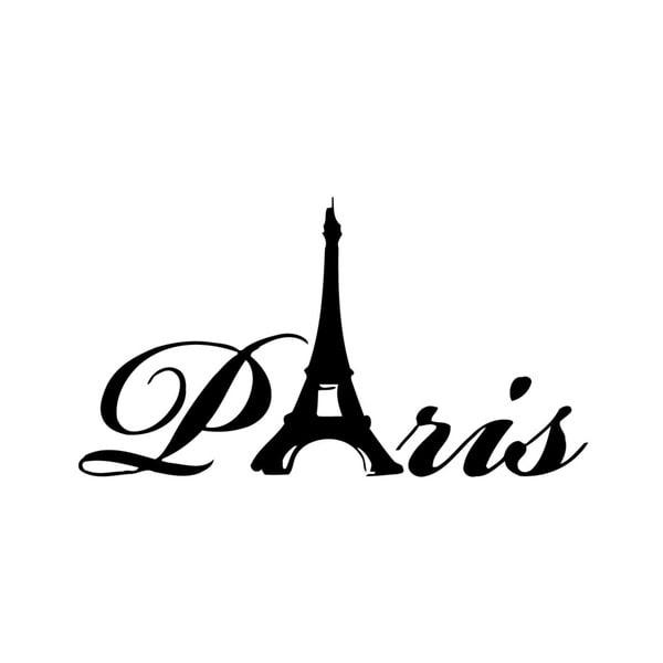 Paris France Eiffel Tower Vinyl Wall Art – Free Shipping On Orders In Paris Vinyl Wall Art (Image 14 of 20)