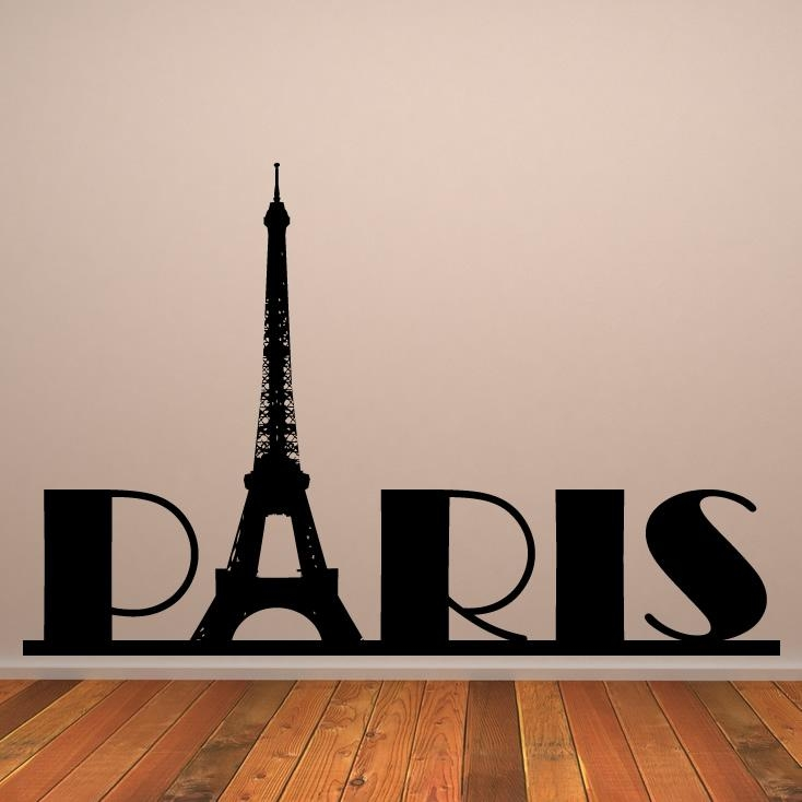 Paris Wall Decor | Roselawnlutheran For Eiffel Tower Wall Hanging Art (Image 13 of 20)