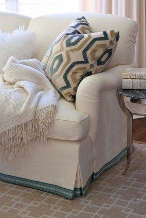 Patterned Sofa Slipcovers – Foter Throughout Patterned Sofa Slipcovers (Image 11 of 20)