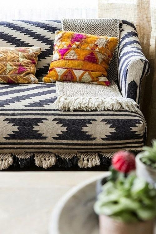 Patterned Sofa Slipcovers – Foter Within Patterned Sofa Slipcovers (Image 12 of 20)