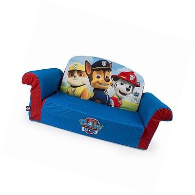 Paw Patrol Kids Flip Open Sofa Marshmallow Furniture 2 In 1 With Regard To Flip Open Couches (Image 14 of 20)