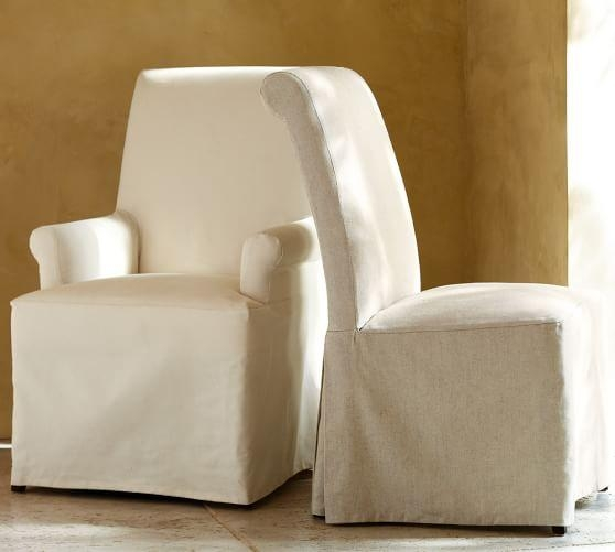 Pb Comfort Roll Slipcovered Chair | Pottery Barn Throughout Pottery Barn Chair Slipcovers (View 17 of 20)