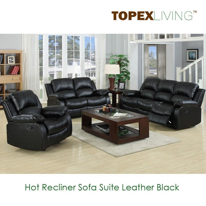 Perfect Leather Sofa And Loveseat Set – Interiorvues For Black Leather Sofas And Loveseat Sets (Image 13 of 20)