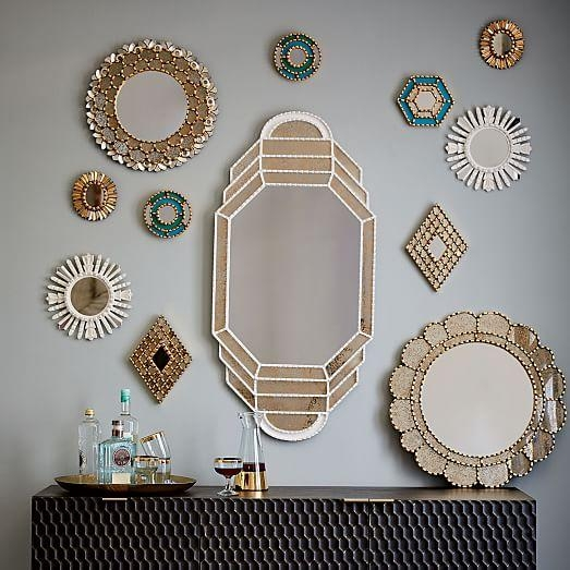 Peruvian Artisan Mirrors | West Elm Within Peruvian Wall Art (Image 13 of 20)