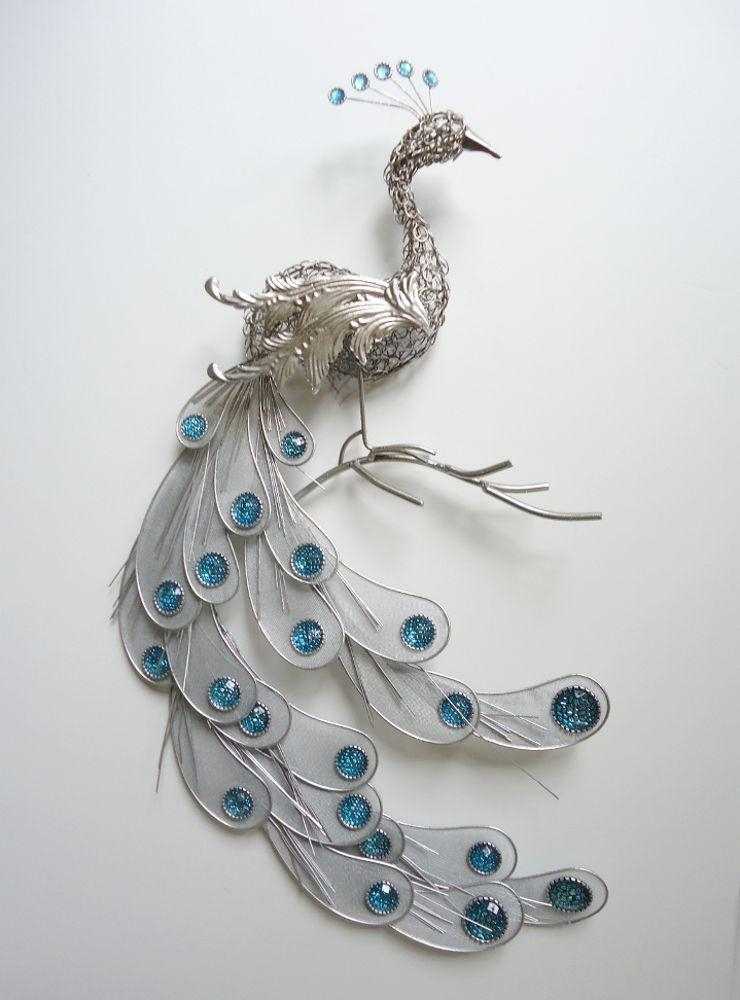 Photo Gallery Of Peacock Wall Decor – Home Decor Ideas Pertaining To Jeweled Peacock Wall Art (Image 17 of 20)