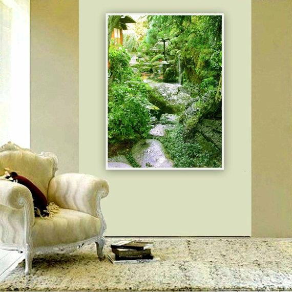 Photography 8 X 10 Modern Wall Art Decor Feng Shui Pertaining To Feng Shui Wall Art (View 4 of 20)