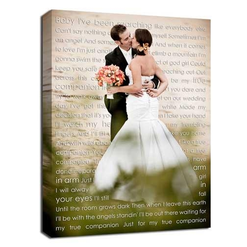 Photos To Canvas With Word Art Custom Giftsgeezees Canvas Art Pertaining To Custom Canvas Art With Words (Image 12 of 20)