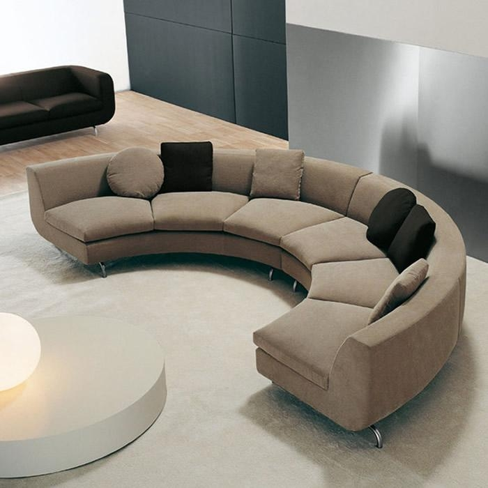 Pics Of Curved Sectional Sofas With Recliners: 7 Astounding Curved Pertaining To Curved Sectional Sofas With Recliner (Image 13 of 20)