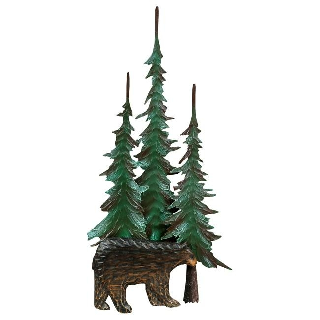 Pine Tree Metal Wall Art: Beautiful Pictures, Photos Of Remodeling For Pine Tree Metal Wall Art (View 7 of 20)