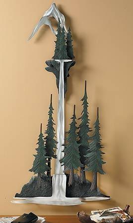 Pine Tree; Metal Wall Art | Wild Wings With Regard To Pine Tree Metal Wall Art (View 18 of 20)