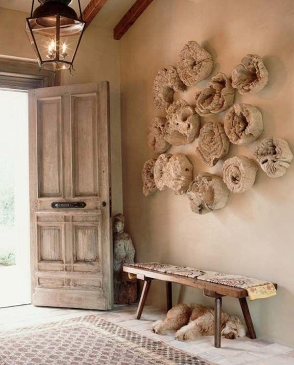 Pinterest'teki 25'ten Fazla En Iyi Driftwood Wall Art Fikri Pertaining To Large Driftwood Wall Art (View 7 of 20)