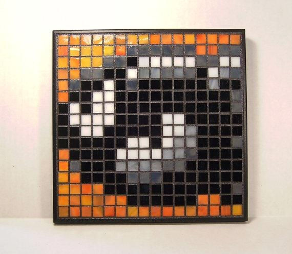 Featured Image of Pixel Mosaic Wall Art