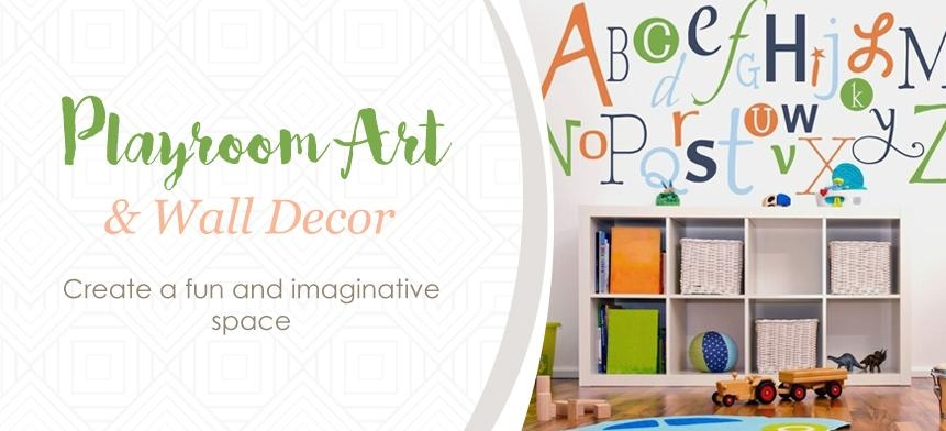 Playroom Art & Wall Decor – Rosenberry Rooms Throughout Wall Art For Playroom (Image 15 of 20)