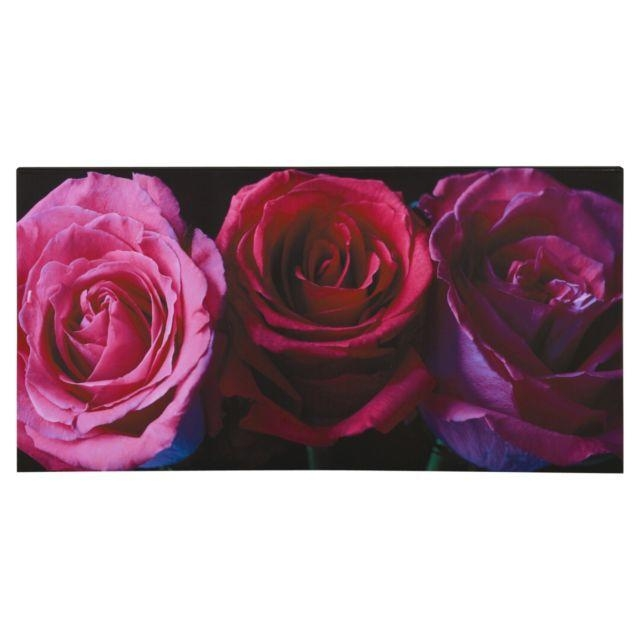 Plum Purple Aubergine Pink Rose Flower Canvas Wall Art Picture Within Aubergine Wall Art (Image 16 of 20)